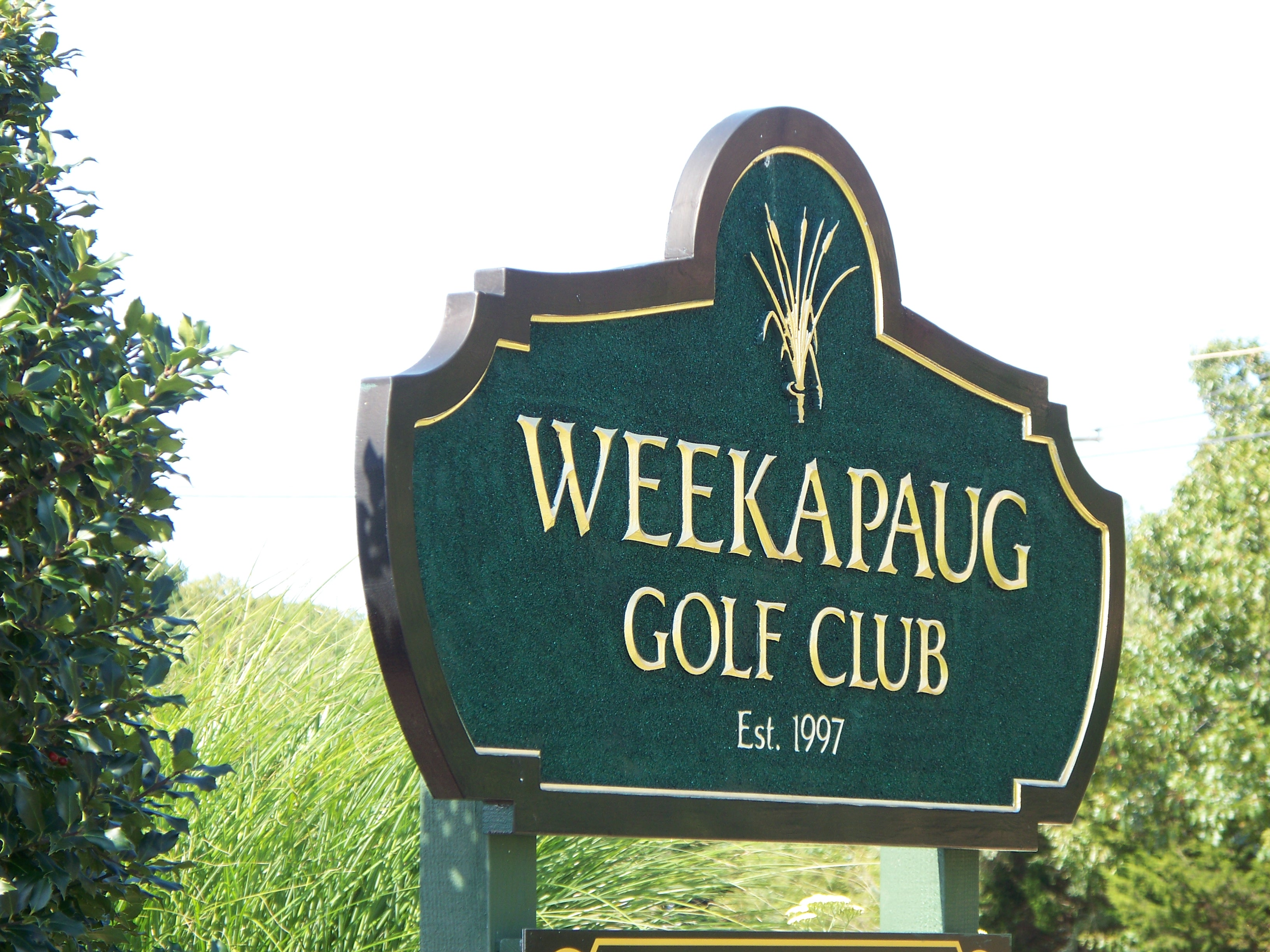 2B. The Weekapaug Golf Club